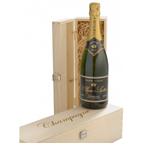 Champagner Leptire - Premier Cru in Holzkiste