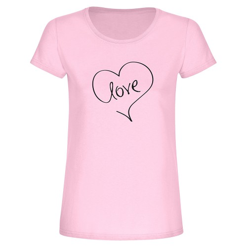 "T-Shirt ""Love"" - Frau"