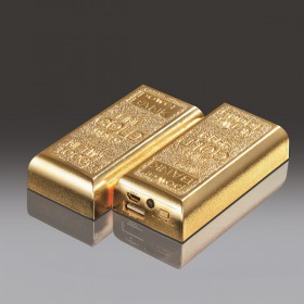 """Goldbarren"" Powerbank"