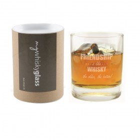 Whiskyglas Friendship is like whisky, the older the better! - Geschenkbox mywhiskyglass